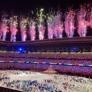 TOKYO2020開会式を見て。 すべての競技が最後まで無事にできますように!