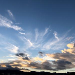 早起きのご褒美はキレイな空♪