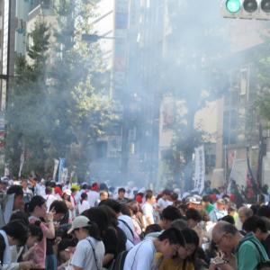 明日は目黒区民まつり2019の「目黒のさんま祭」ですが!先週の第24回 目黒のさんま祭りの様子を掲載!
