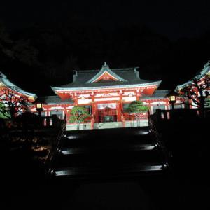 ライトアップに映える!縁結びの神様をお祀りしている織姫神社!最近では恋人の聖地とか!