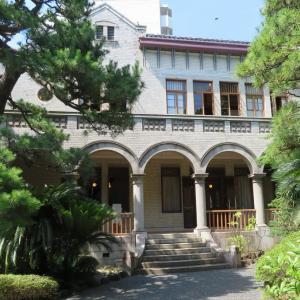 神谷バー(電気ブラン)創設者(神谷伝兵衛=日本のワイン王)の別荘にやってきました。
