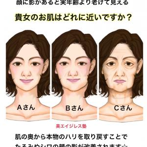 顔の影があなたの「見た目年齢」を左右する!