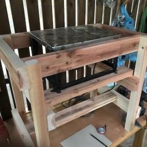 丸ノコテーブル作り(その1)