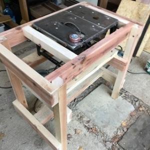丸ノコテーブル作り(その2)