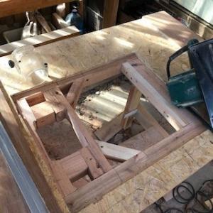 続・丸ノコテーブルを作り直し‥‥