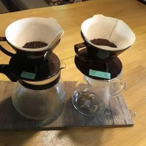コーヒーの飲み比べって‥‥