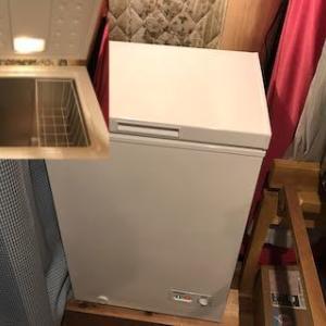 ブルーベリーの為に冷凍庫