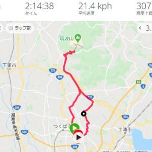 筑波神社参詣 & ラーメン ひしお・鬼者語 サイクリング