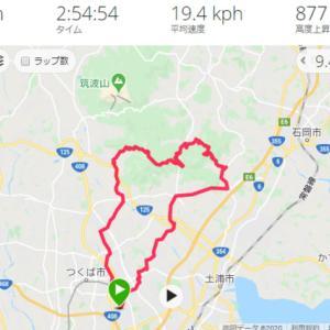 筑波山~青木葉峠 サイクリング