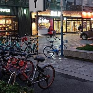 自転車シェアサイクリング