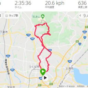 つくば ロードバイク 筑波山梅林 サイクリング