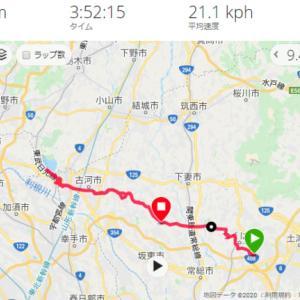 サイクリング つくば ~ 古河総合公園 桃 & 渡良瀬遊水地