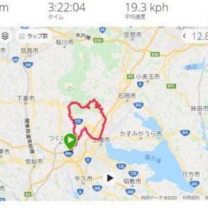 つくば ロードバイク 筑波山~石岡 山サイクリング