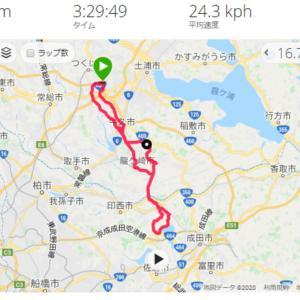 つくば 印旛沼 サイクリング