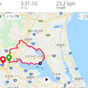 霞ケ浦 サイクリング 行方 ~ 恋瀬川サイクリングロード