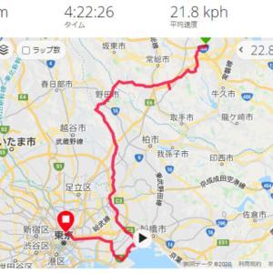 つくば サイクリング 江戸川CR~浦安~東京
