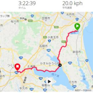 つくば ロードバイク ー 涸沼 広浦キャンプ場 キャンプツーリング その4