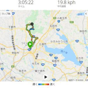 筑波山サイクリング 不動峠~つつじヶ丘の駐車場