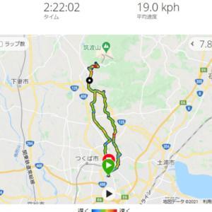筑波山 梅林 サイクリング