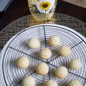 片栗粉+ひまわりオイルのクッキー