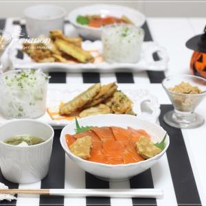 Happy Halloween な和食でした