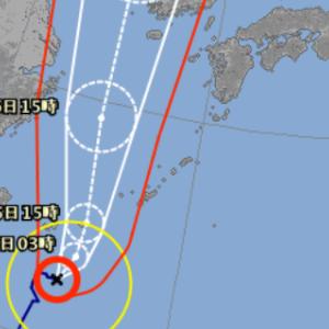 暴風域には入らない?台風13号の気になる進路。