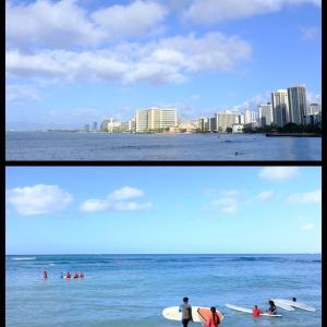 2019年末ハワイ:クイーンズサーフビーチ