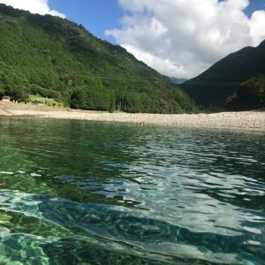 念願の銚子川
