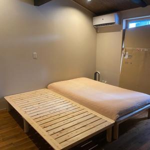 広島檜すのこベッド来る