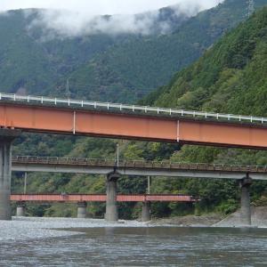 SLを見ながら大井川をダウンリバー 2020.10.18