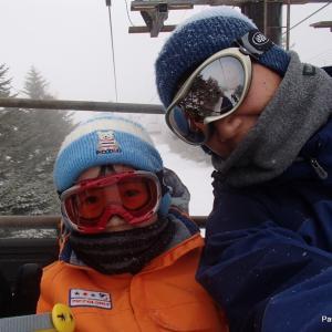 車山高原でスキー 2019.1.20