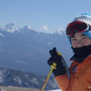 快晴の車山高原スキー 2019.2.17