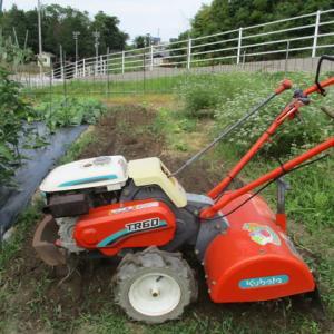 耕運機の修理