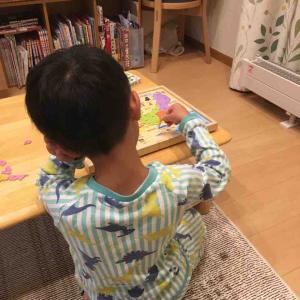 都道府県パズルとかるたは6才児も楽しめる。