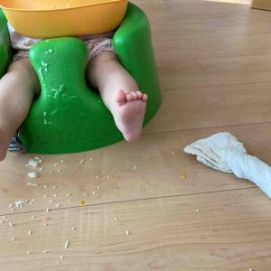 【離乳食中期】8週目まとめ・いよいよ卵黄に挑戦