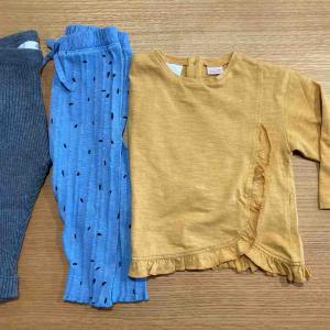 【小1男児】【0才女児】ザラの子ども服を初めて買ってみた!