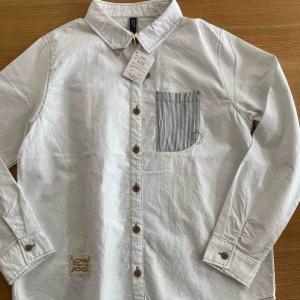 【少ない服で着回す】久々にストレス発散買いをしてしまった。ノーザントラックのシャツ。