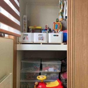 【子ども収納】おもちゃで遊ばなくなってきた小学2年生。現在のおもちゃ収納。