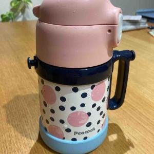 【1才8ヶ月】マグから水筒にレベルアップ