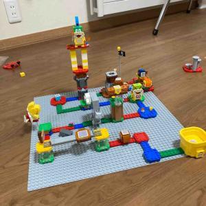 【小2男児】ばばにレゴマリオを買ってもらった。