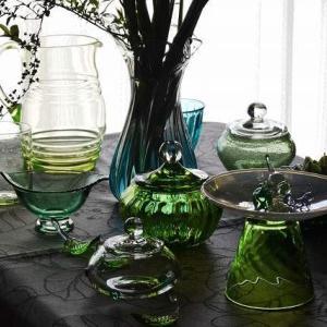 中山さんの緑のガラス♪
