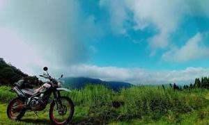 バイクと登山。