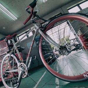 自転車のメンテ依頼。