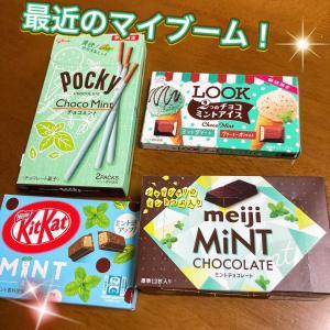 マイブーム٩( ᐛ )و ミント系お菓子!