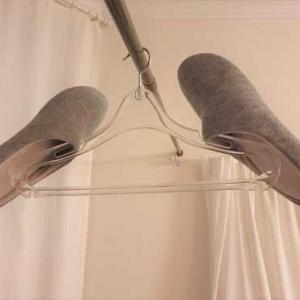 ユニクロのスリッパを洗濯してみた。