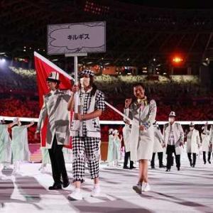 オリンピック開会式。