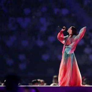 オリンピック閉会式。