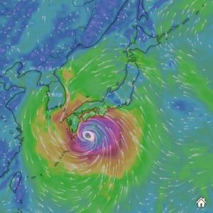 近日中に台風10号が発生するようです。日曜日から月曜にかけて四国、中国地方に上陸?