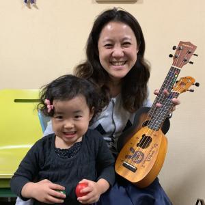3歳 親子で楽器を習う♪