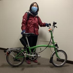 自転車通学♪